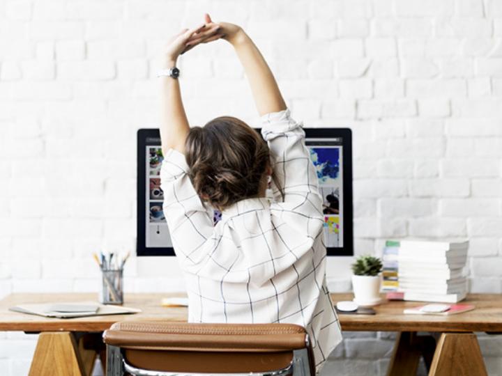 Desk Yoga & Meditation with Aoife Walsh